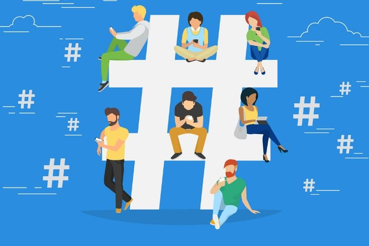 hashtag populaire