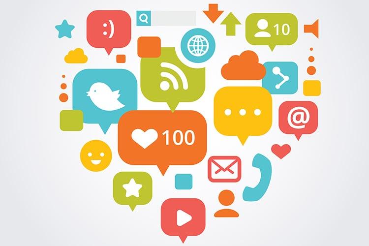 publicité sur les médias sociaux